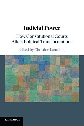 Compare Textbook Prices for Judicial Power  ISBN 9781108443098 by Landfried, Christine