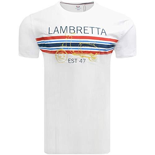 Lambretta Classic Striped Mod/Ska T-shirt for Men