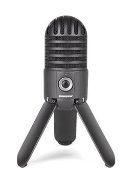 Samson Meteor Mic USB Studio Microphone  Titanium Black