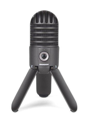 Samson Meteor Mic USB Studio Microphone (Titanium Black)