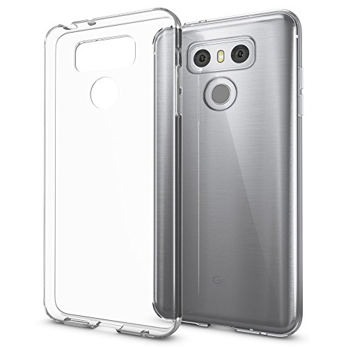NALIA Funda Carcasa Compatible con LG G6, Protectora Movil Silicona Ultra-Fina Gel Cubierta Estuche, Goma Telefono Bumper Smart-Phone Cover Cobertura Delgado Claro Case Cristal Clear - Transparente