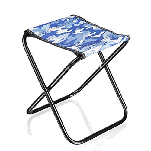 Outdoor Draagbare vouwkruk Mini Draagbare klapstoelen Geschikt voor volwassenen en kinderen om te wandelen, picknick, reizen, strandstoel met draagtas