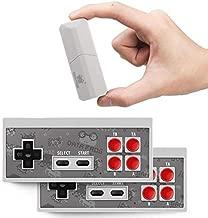 Ocamo Retro Video Game Console Mini Wireless Console AV Output Dual Gamepads Game Console