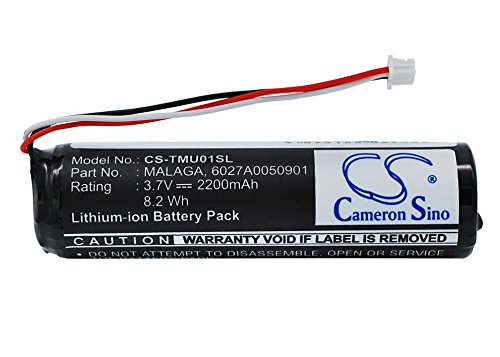 Rechargeable Battery 2200mAh For Tomtom 6027A0050901, Malaga, 4GC01, Urban Rider, Urban Rider Pro
