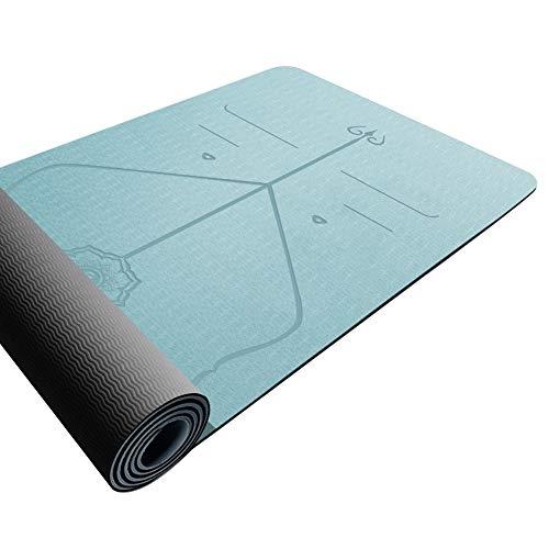 Home Gyms Yoga-Matte Fitness-Matte Sportmatte rutschfeste Matte zu Hause Fitness (Color : D)