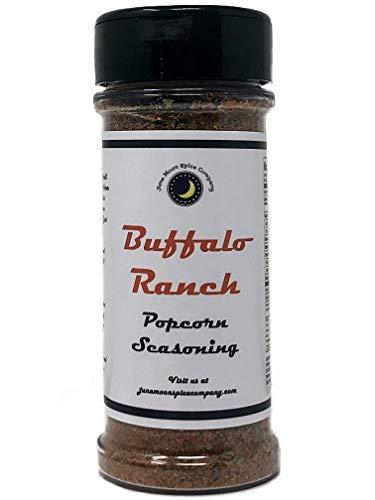 Best Deals! Premium | BUFFALO RANCH Popcorn Seasoning | Large Shaker | Calorie Free | Fat Free | Sat...