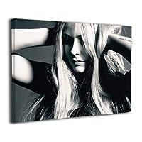 Avril Lavigne 絵画 ポスター 壁キャンバス アートワーク 家飾り バー ポープアート 飾り絵 気分転換 癒し 接客室 新築 お中元 30 * 40 Cm