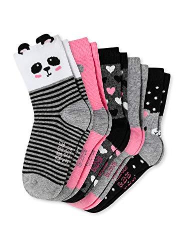 Schiesser Mädchen Socken - 5er Pack, Sortiert 4, 31-34