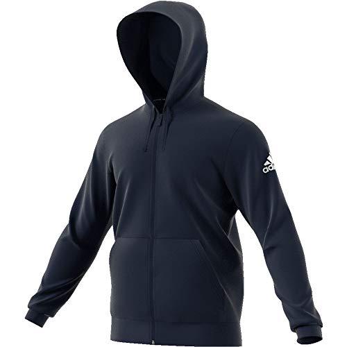 adidas Herren Sweatshirt M MH Plain FZ, Legend Ink/White, 2XL, FL3947