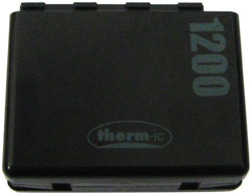 therm-ic Zubehör Smartpack replacement battery 1200 1 pc, black/Silver, one size