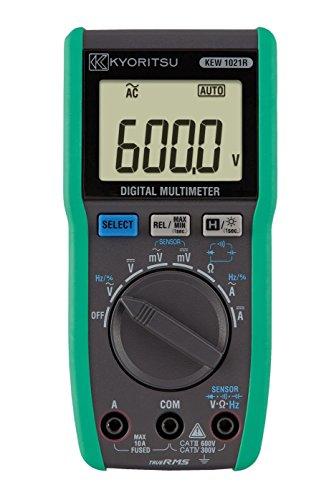 共立電気計器 (KYORITSU) デジタルマルチメータ AC/DC 10A電流レンジ付 KEW 1021R