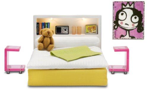 Lundby Stockholm Puppenhaus Schlafzimmer Zubehör Beleuchtung