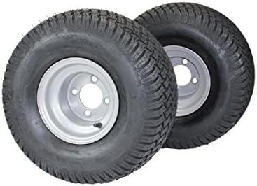 (Set of 2) 20×10.00-8 Tires & Wheels...