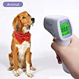 PAN Pet Products Digitales Thermometer für Haustiere, elektronisch, kontaktloses Thermometer, Infrarot-Thermometer