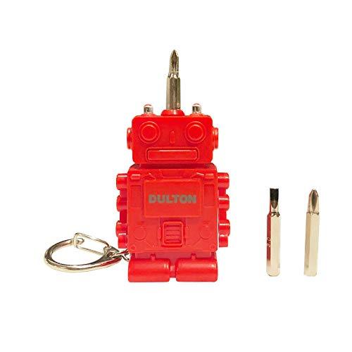 """ダルトン Tool key chain """"Robot"""" K825-1064 ツール キーホルダー レッド"""