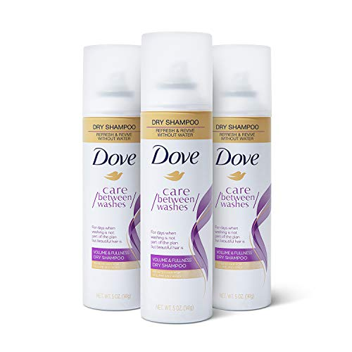 Dove Dry Shampoo Hair Treatment for Oily Hair, Volume and Fullness Cleansing Hair Volumizer 5 oz 3 Count