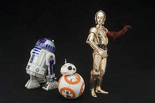 Kotobukiya ksw1141: 10Escala C-3PO y R2-D2con BB-8ARTFX + Estatua de