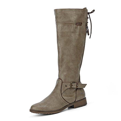MUSTANG Damen Stiefel Beige (Taupe), Schuhgröße:EUR 37