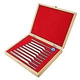 Diapason Medico, 8 Frecuencias Diferentes Instrumentos De Diapasón Médico De Aluminio Set De Herramientas De Terapia De Vibración De Sintonización