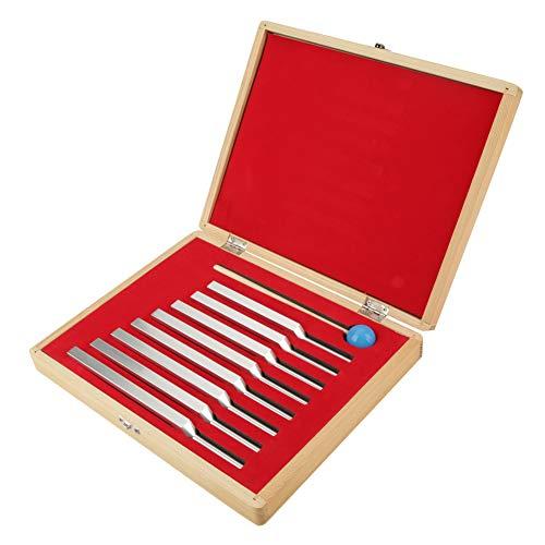 8 diapasones de aluminio con instrumentos de mazo Conjunto de herramientas de sonido de vibración sintonización médica