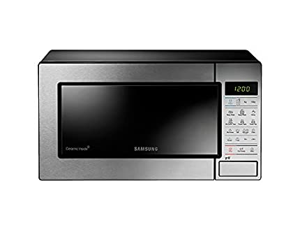 Samsung GE83M - Horno microondas con grill, 23 litros, Plateado