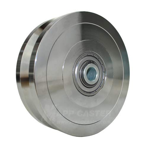 Powered Sliding Gate V Groove Wheel 6