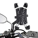 HASAGEI Soporte Movil Moto Deportiva para 4.5' -7.2' Smartphones Soporte Movil para Moto (para el retrovisor Moto)