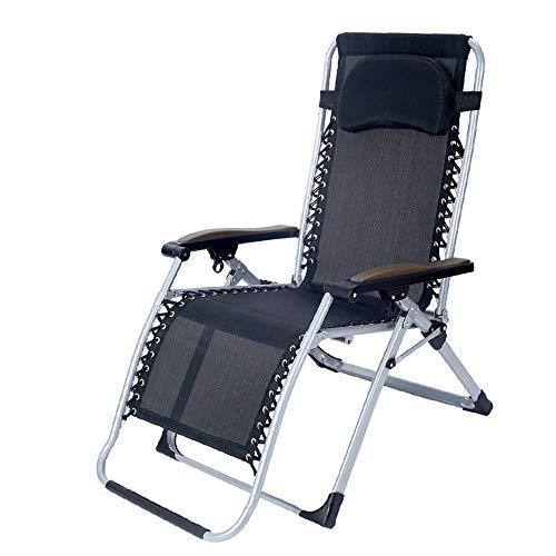 XUE mecedoras de gravedad cero tumbona tumbona silla reclinable de gran tamaño para apoyo al aire libre 260 libras 4 colores