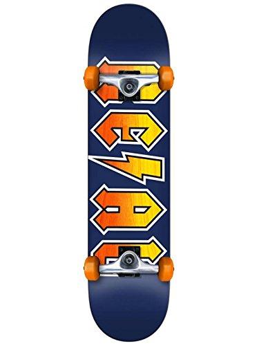 Real Blau New Deeds Mini - 7.38 Inch Skateboard Für Kinder Komplett (One Size, Blau)