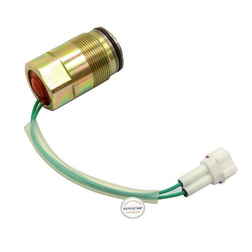 SINOCMP SKC5/G24-106-1 Électrovanne de pompe hydraulique pour Kobelco SK60-5 SK200-5 excavatrice, garantie de 3 mois
