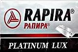 5 cuchillas de afeitar Rapira Platinum Lux (1 paquete)