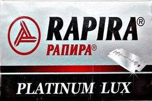 5 Rapira Platinum Lux Rasierklingen (1 paket)