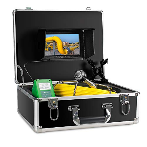 Sewer Camera,Pipe Inspection Camera Drain Industrial Endoscope Plumbing Video System 7