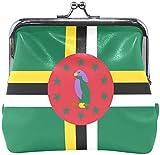 Monedero Monedero con Bandera de República Dominicana Mini Billetera niñas Damas