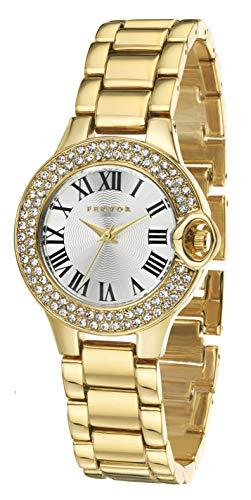 FERVOR Caddy Reloj Chapado en Oro