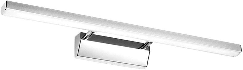 LED-Spiegel der vorderen Scheinwerfer wasserdicht Beschlagfrei Badezimmer Spiegelschrank Leuchte Make-up-Leuchten Einfache moderne Wandleuchte (Farbe  B positiv weies Licht -70 cm)