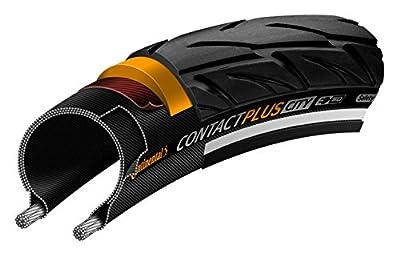 Continental Country Plus Travel ETRTO (50-559) 26 x 2.0 Reflex Bike Tires, Black