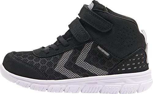 hummel Unisex Kinder Crosslite Mid Tex Jr Sneaker, Schwarz, 32 EU