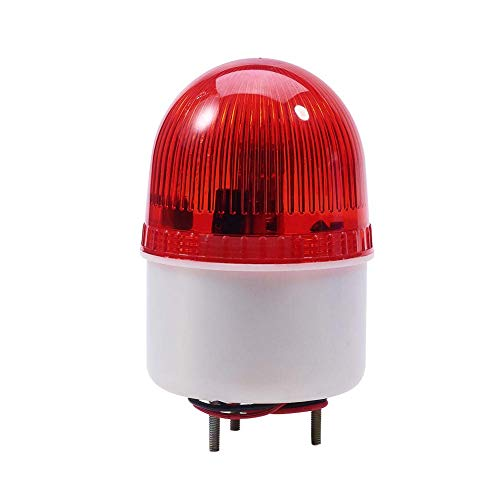 LTE-2071J DC 220V Sonido de zumbador rojo 90 db Lámpara de señal...