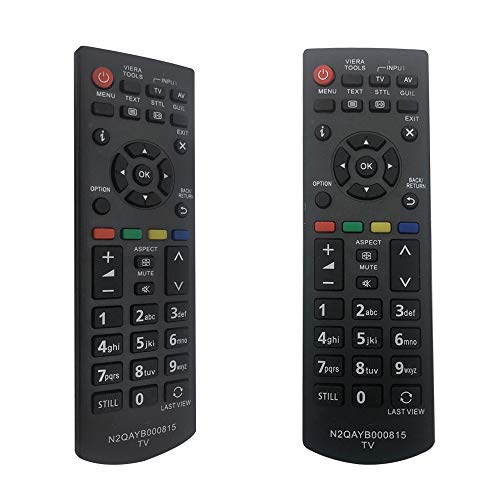 FOXRMT Nuevo Reemplazo Panasonic N2QAYB000815 Mando a Distancia para Panasonic Smart TV Mando a Distancia N2QAYB000815 Ajuste para Panasonic TV/Smart TV