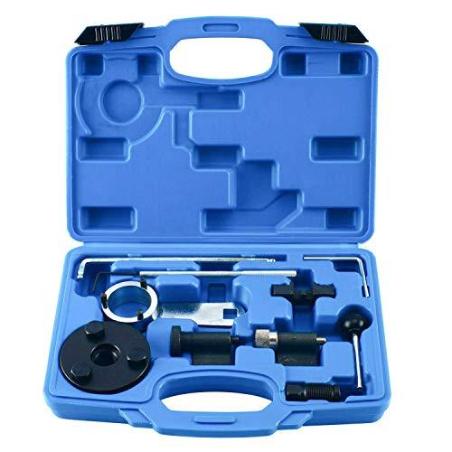 FreeTec Motor Zahnriemen Wechsel Werkzeug Nockwellen Arretierwerkzeug Einstell Werkzeug, 10-teilig