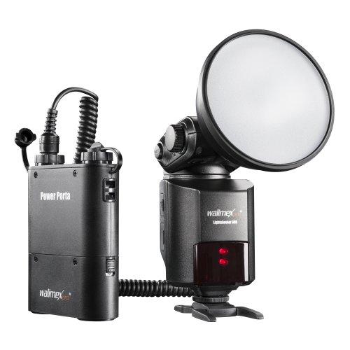 Walimex Pro Lightshooter 360 - Disparador Remoto de Flash (se Incluye Fuente de alimentación Power Porta)