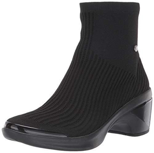 BZees womens Wicked Mid Shaft Boots,WICKED,Black,9 M