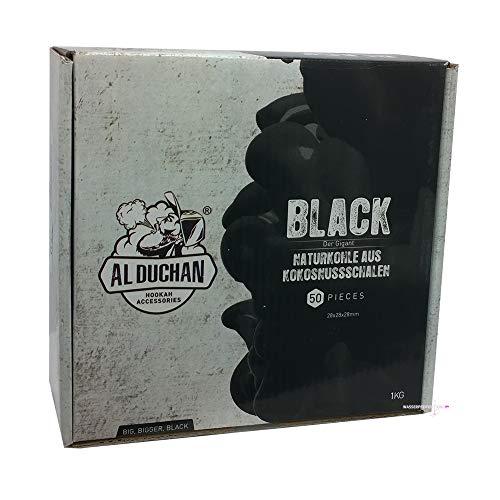 Al Duchan Black 28er - 1 KG   Shisha Naturkohle aus Kokosschalen