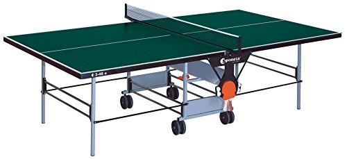 Sponeta Outdoor Tischtennisplatte: Sportline Wiedergabe 3-46e Grün