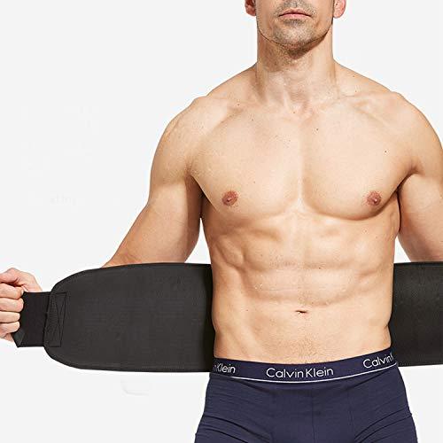 """WL Premium Waist Trimmer Belt for Men & Women – Ideal Waist Trainer Belt for Weight Loss, Workout, Body Shaper(Size 39.4"""" 7.5"""")"""