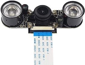Raspberry Pi 3 B Camera 160 FOV Night Vision Fisheye Module, Sensor OV5647 5 Megapixel 1080p Compatible with Raspberry Pi Model A/B/B+, RPi 2B Pi 3 B+ and Pi 4B