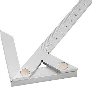 Centrerende mesliniaal, middelpuntmeter, hoekmeters, 100 * 70 mm metrisch, industriële precisie middelpuntmeter, liniaal P...