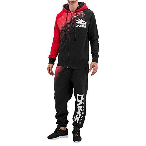 Dangerous DNGRS Herren Trainingsanzug Anzug Klassisch Oberteil und Hose (XL, Classic)