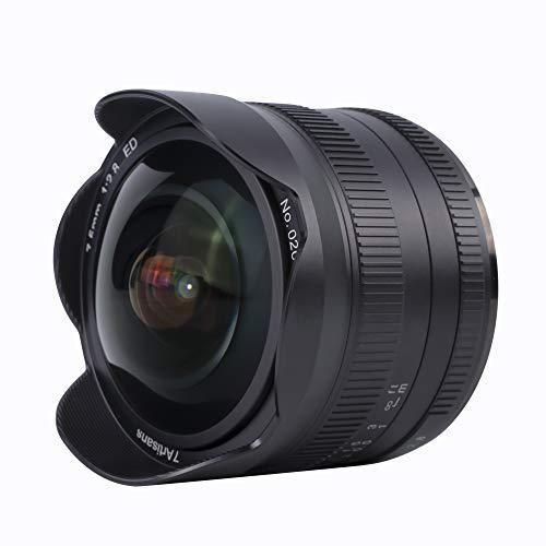 7artisans 7,5 mm f2.8 Mark III APS-C Fisheye obiettivo fisso manuale grandangolare per Panasonic Micro 4/3 MFT Mirrorless Camera G1 G2 G3 G5 G6 G7 GF1